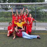 Moabiter D-Mädchen bestreiten ihr erstes Liga-Spiel